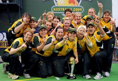 2009 World Cup Indoor Cricket. Sports Therapist with the Australian Teams.